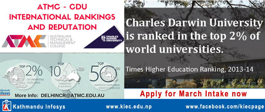 ATMC- CDU Melbourne International rankings and reputation
