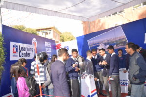 KIEC Pulchowk Sainik Awasiya students visit