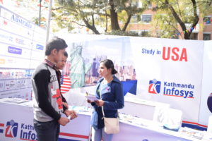 KIEC Pulchowk Study in USA Backdrop