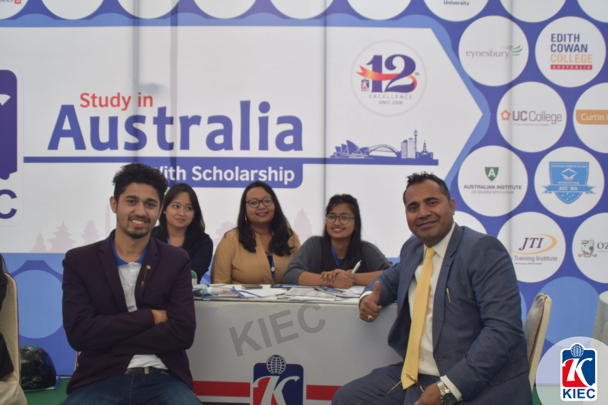Mr. Asif Ali from ATCWA representative with KIEC Team
