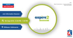 aspire2 international 9 SEPT (Event)