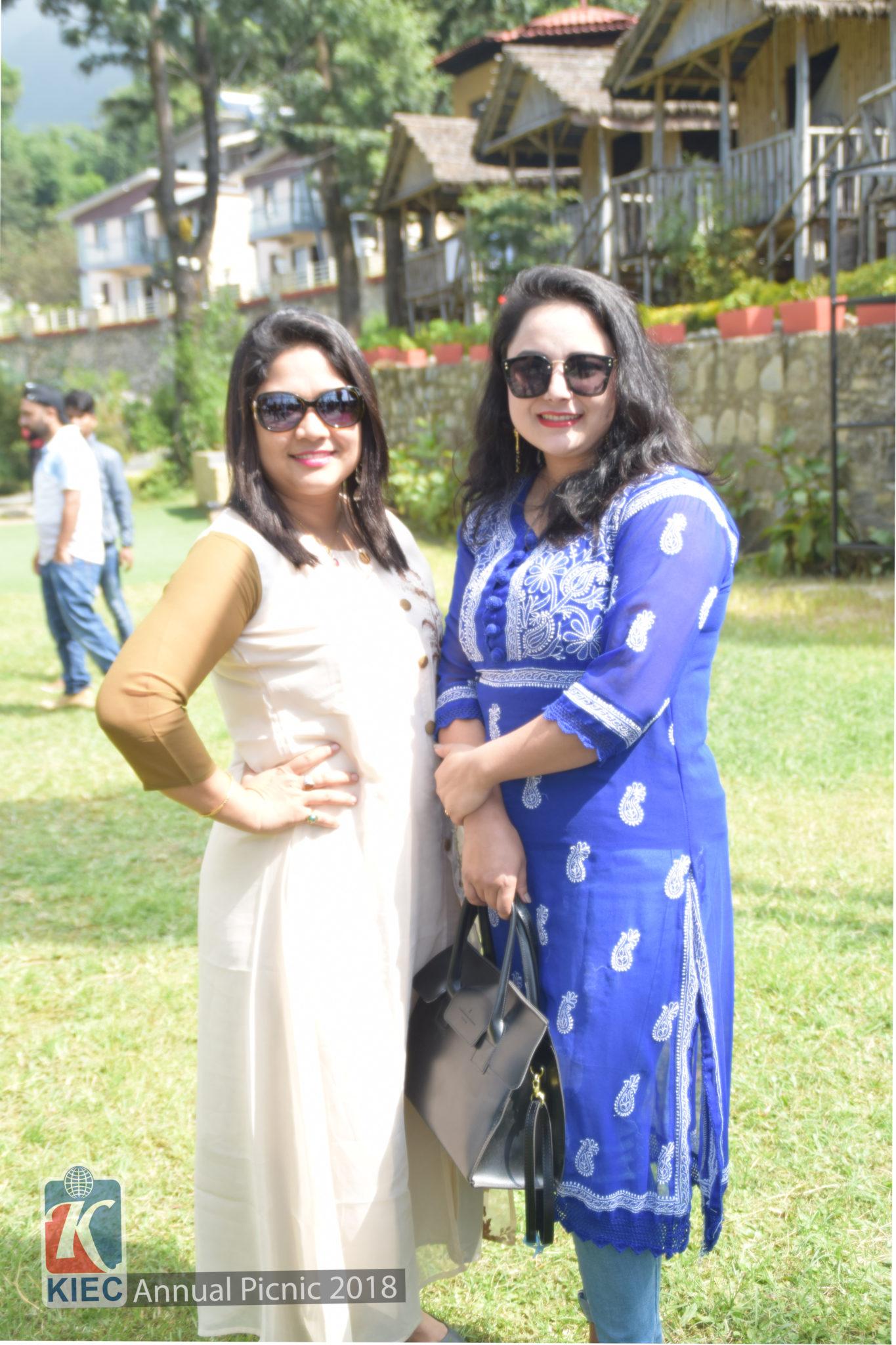Namita Shrestha with Pratiksha Shrestha