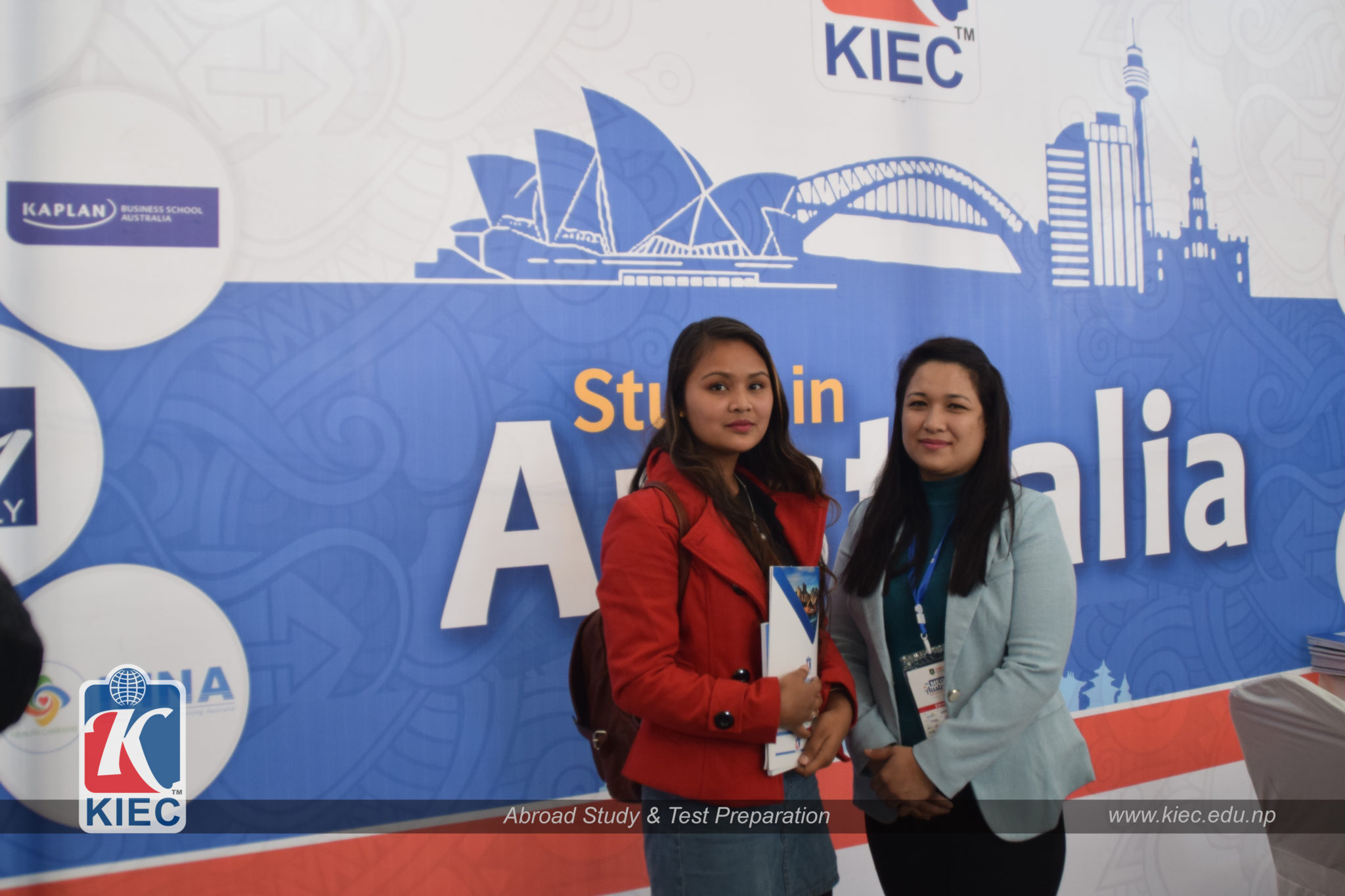 KIEC Counsellor with Director of Admissions
