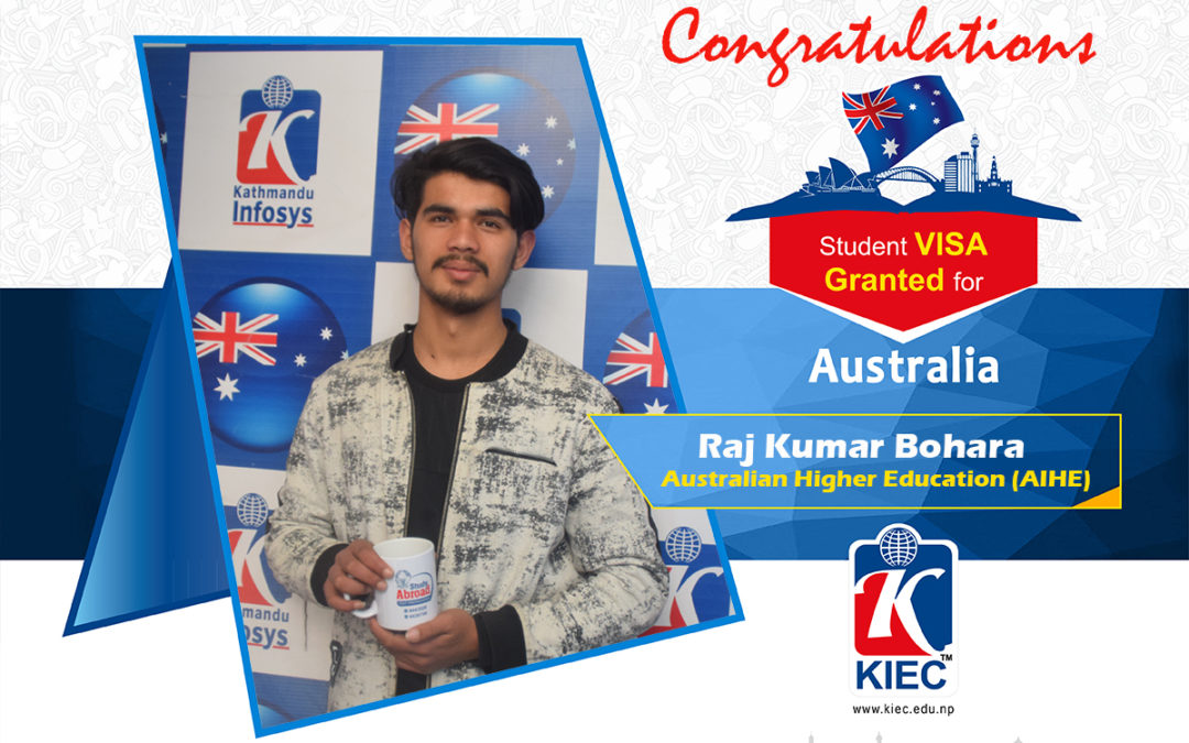 Raj Kumar Bohara | Australian Study Visa Granted
