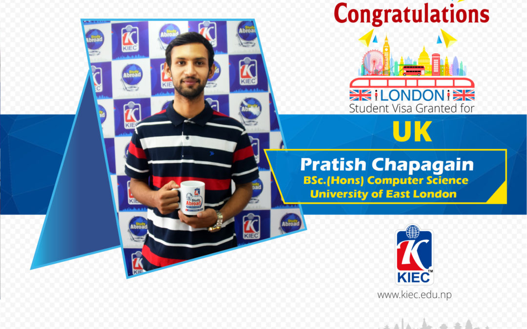 Pratish Chapagain | UK Study Visa Granted