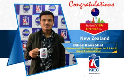 Bibek Ranabhat   New Zealand Study Visa Granted