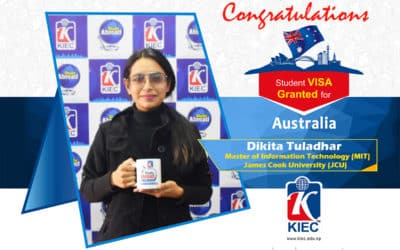 Dikita Tuladhar | Australian Study Visa Granted