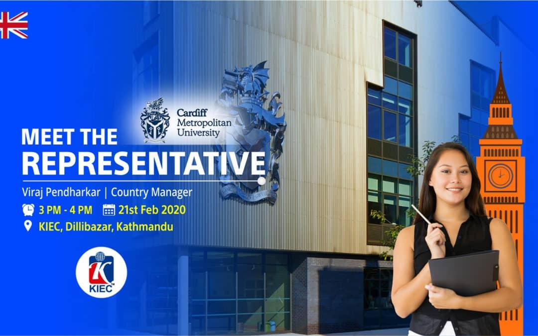 Meet Representatives from Cardiff Metropolitan University, UK