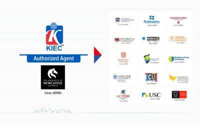 KIEC as an authorized agent of the University of Newcastle, Australia.