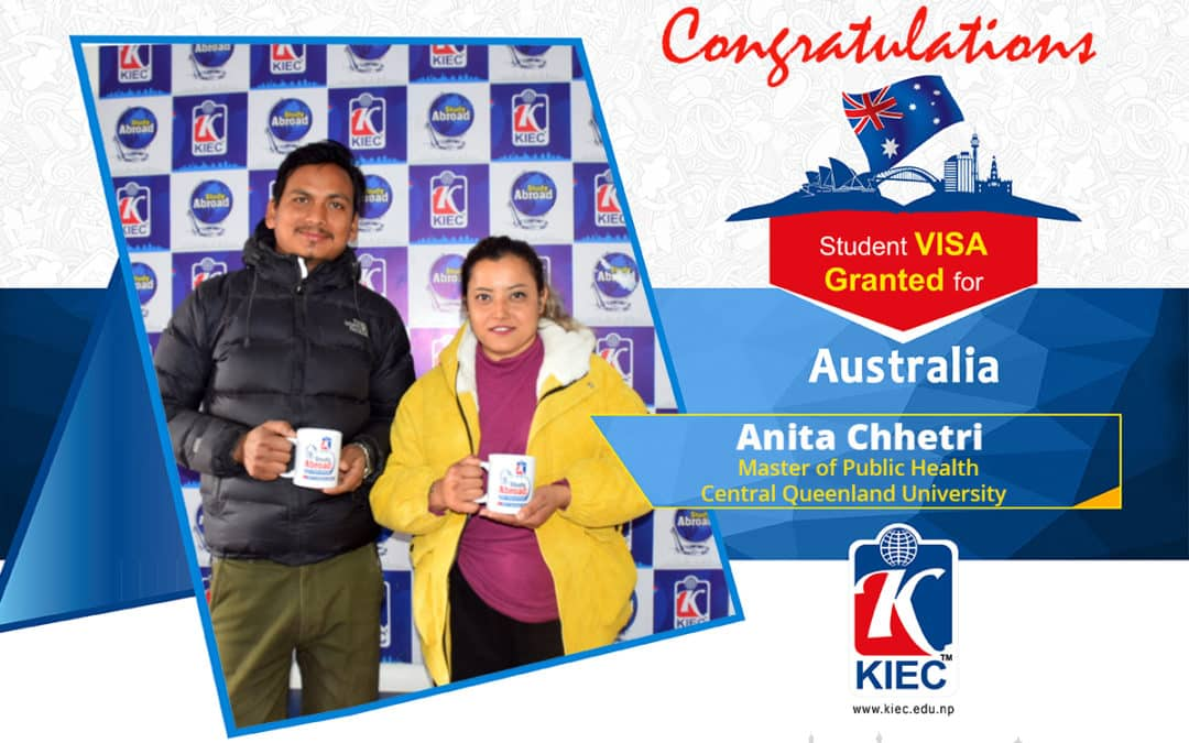 Anita Chhetri | Australia Study Visa Granted