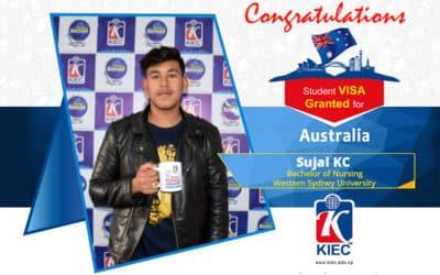 Sujal KC | Australia Study Visa Granted