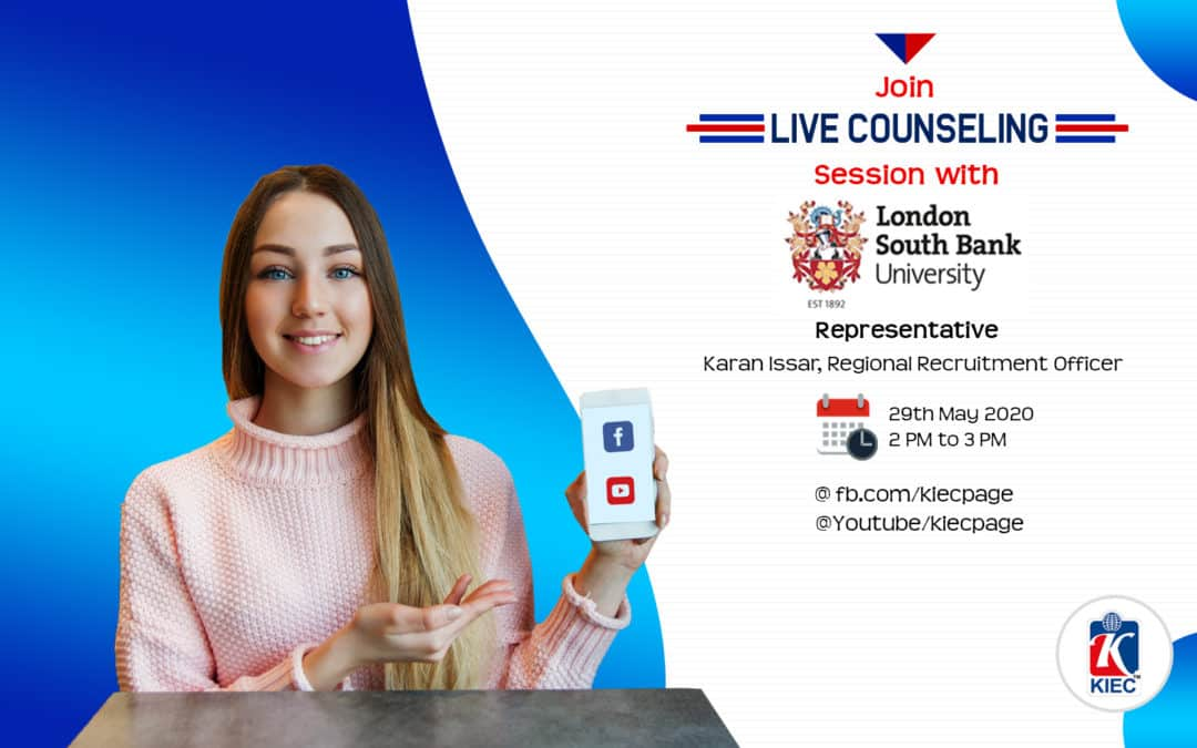 Join Live counselling Session with London South Bank University