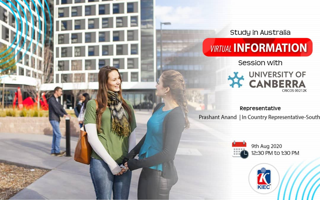 Join Virtual information Session with University of Canberra