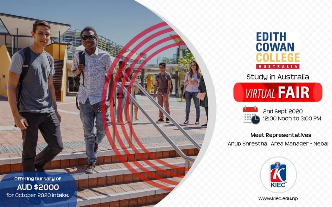 Study In Australia | Edith Cowan College Virtual Fair