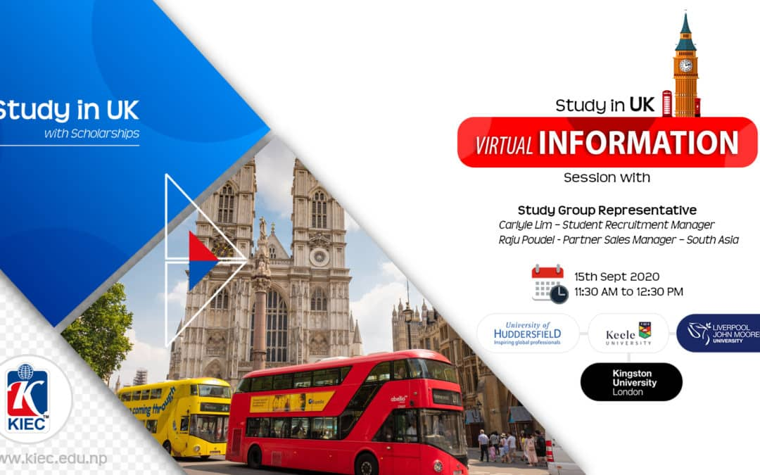 Study In UK | Virtual Information Session with Study Group