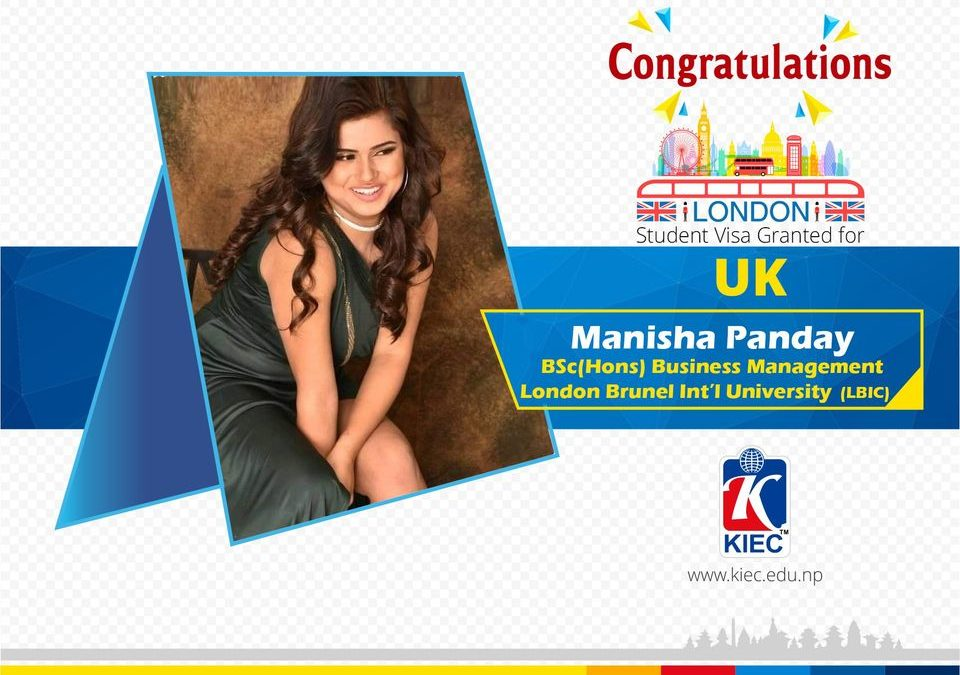 Manisha Panday | UK Study Visa Granted