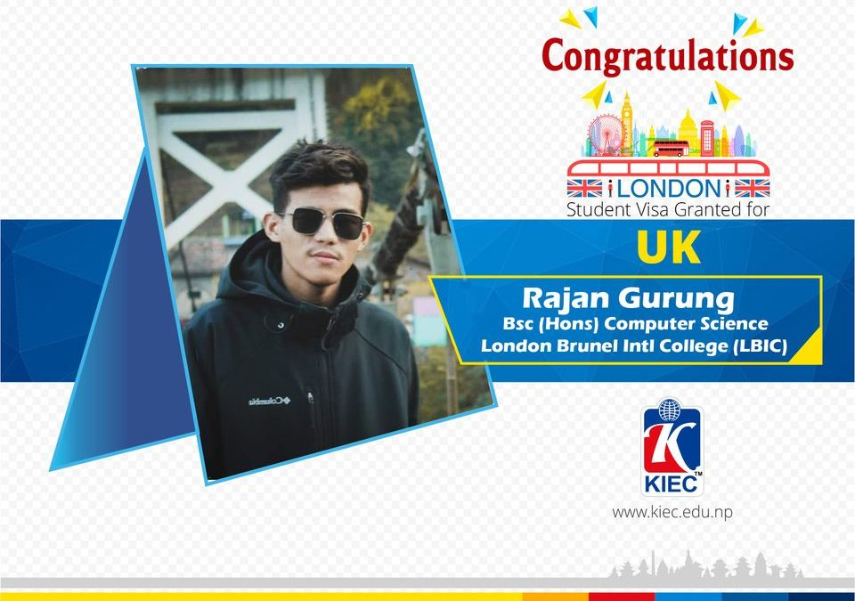Rajan Gurung | UK Study Visa Granted