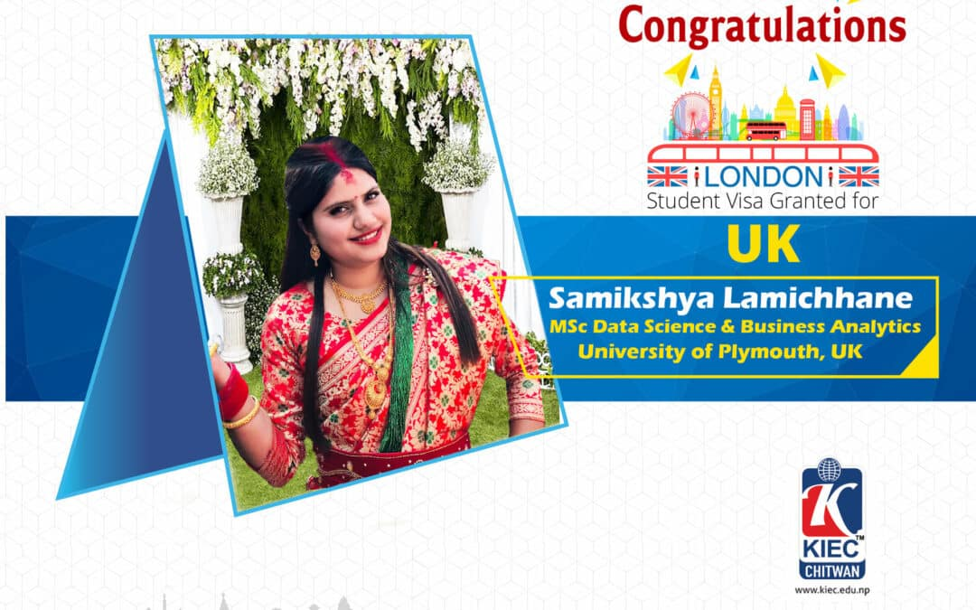 Samikshya Bhattarai | UK Study Visa Granted