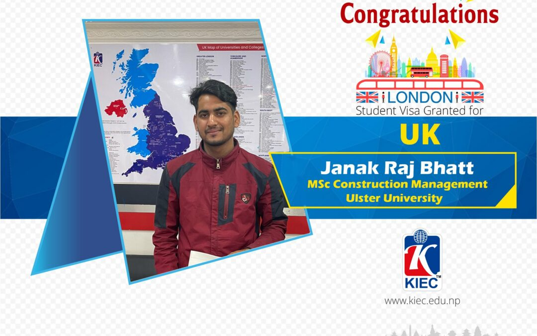 Janak Raj Bhatt | UK Study Visa Granted