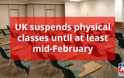 UK suspends physical classes until at least mid-February