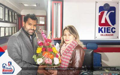 Welcome to KIEC | Sabina Shakya
