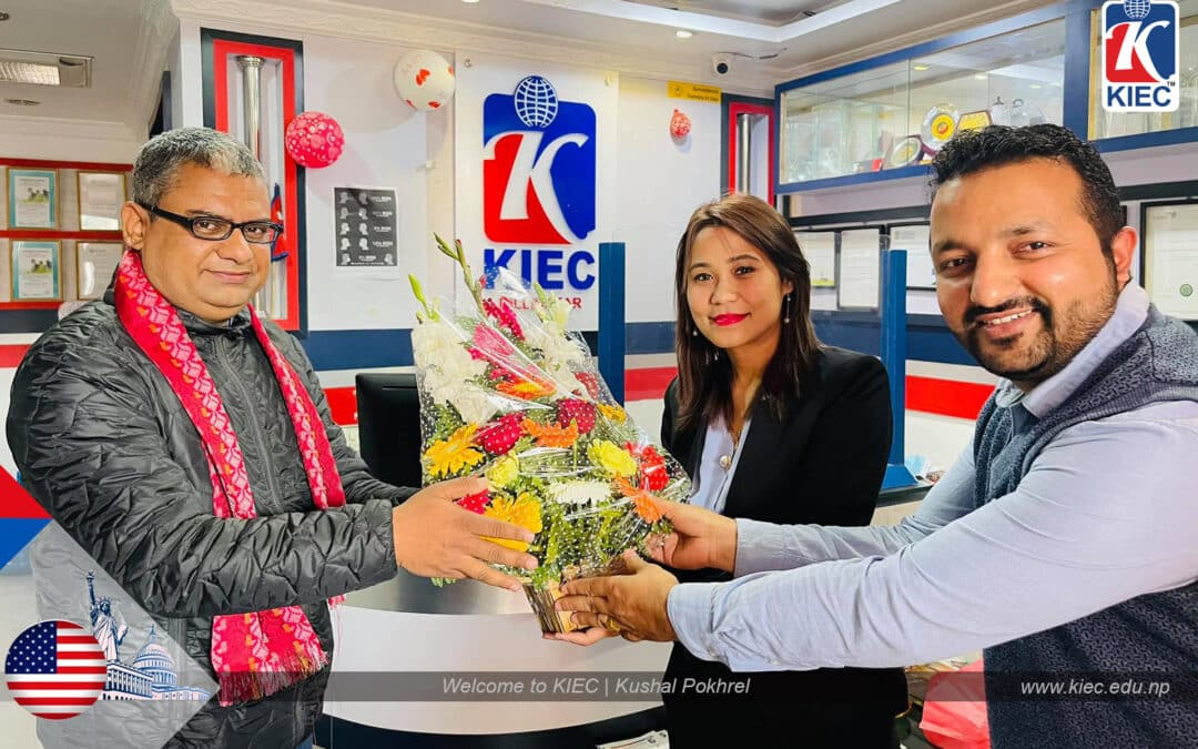 Welcome to KIEC   Kushal Pokhrel