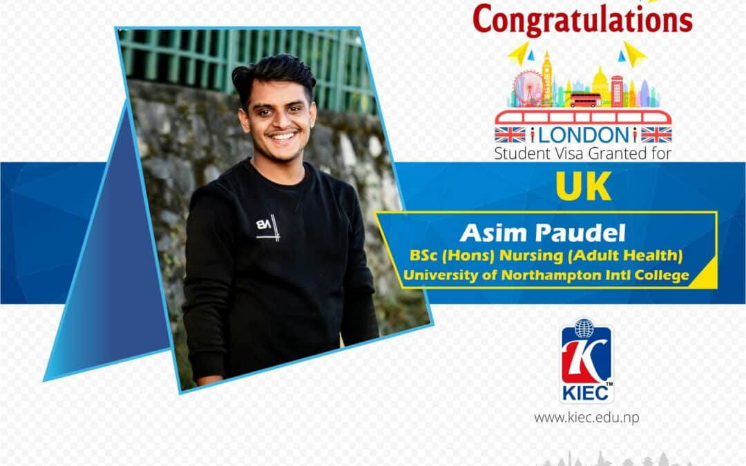 Asim Paudel | UK Study Visa Granted
