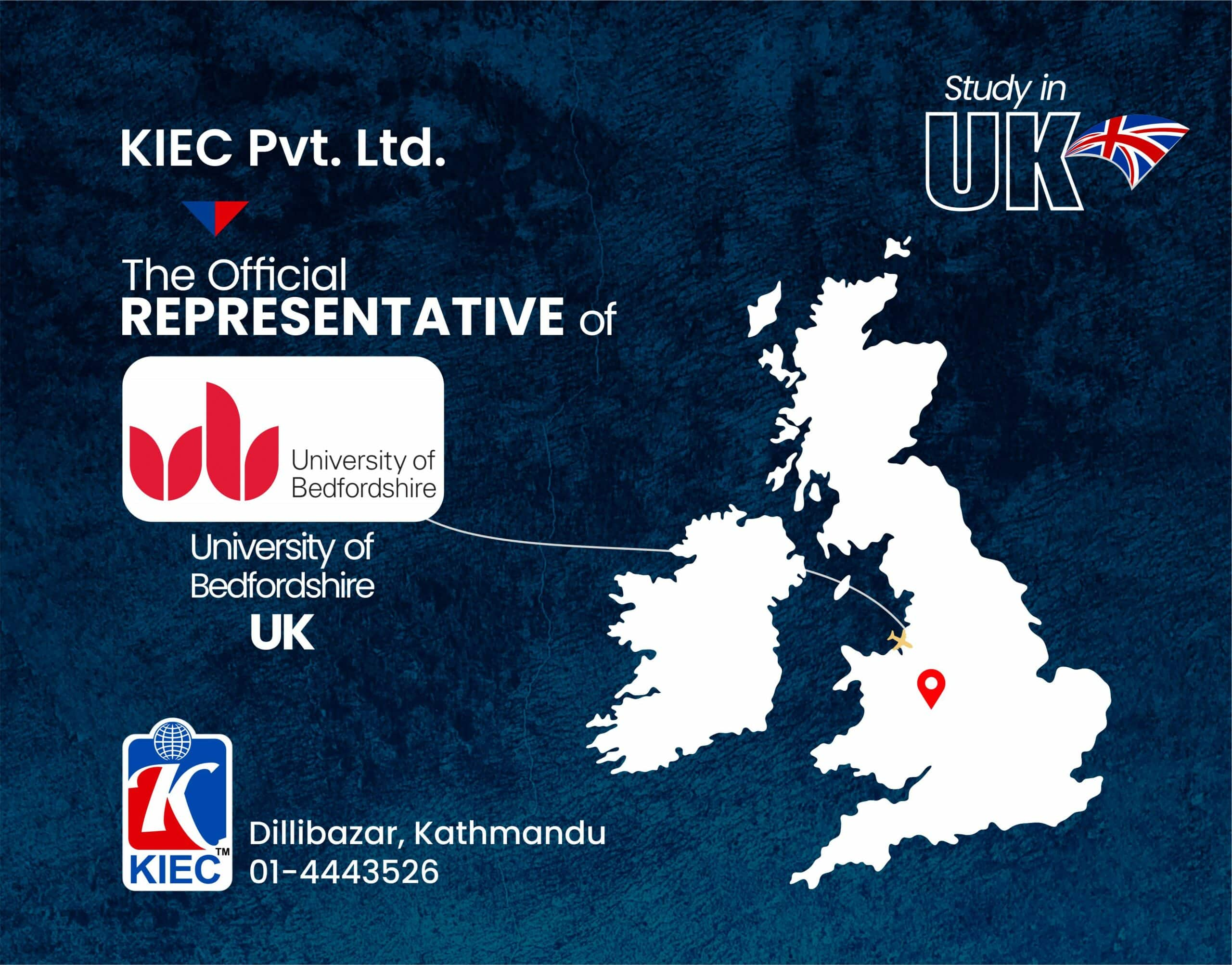 KIEC Official Representative Of University of Bedfordshire, UK