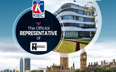 KIEC is an official representative of University of Northampton