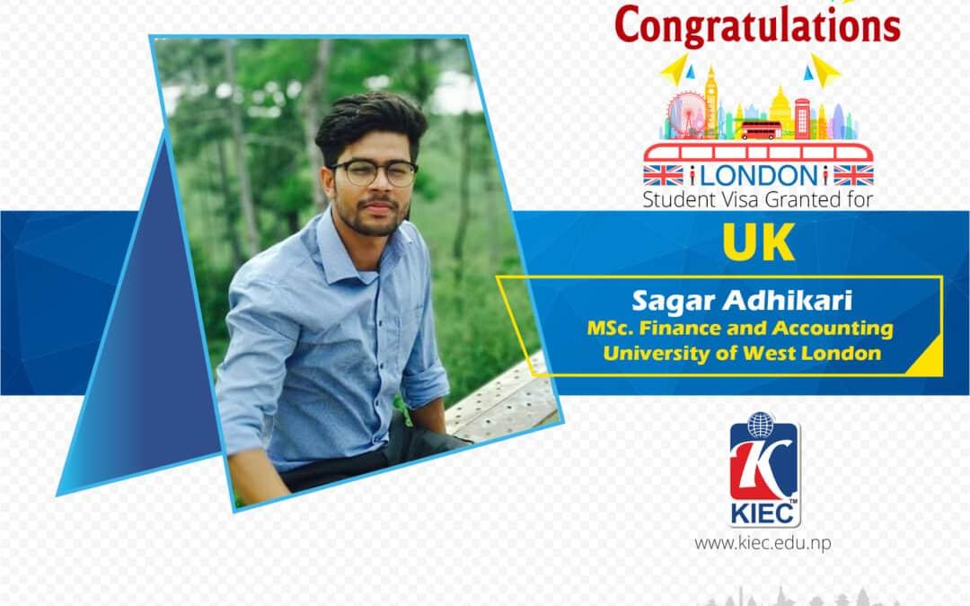 Sagar Adhikari | UK Study Visa Granted